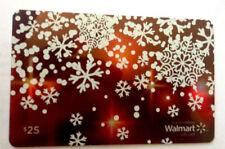 WALMART CHRISTMAS FLAKES COLLECTIBLE GIFT CARD FD-49046