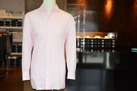 Finamore Shirt IN Pink With Shark Collar Kr. 44 Regular Eur. 390