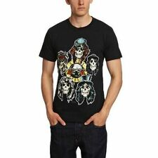 Guns N Roses Vintage Heads Official Mens Black T Shirt XL