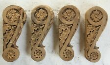 More details for  hand carved gothic wood church french sculpture carvings