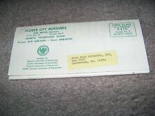 1975 Flower City Nurseries Joe Boyd Smartt Tennessee Lynchburg Virginia