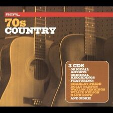 Real 70's: Country Box CD Set Jun-2004 3 Discs Waylon Jennings Willie Nelson +