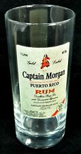 Captain Morgan Puerto Rico Rum Gold Label Drinking Glass Tumbler