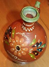 poterie de Savoie en terre vernissé  et décorée