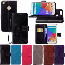 For Xiaomi Mi A1/ 5X PU Leather Magnet Buckle TPU Wallet Flip Stand Case Cover