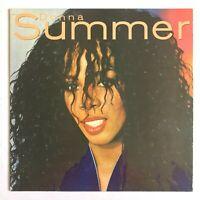 DONNA SUMMER - Donna Summer 1982 Disco Vinyl LP (State Of Independence)  VG+/VG+