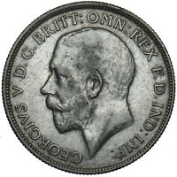 1916 FLORIN - GEORGE V BRITISH SILVER COIN - NICE