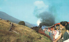 Logging Train Cass Senic Railway West Virginia Railroad Postcard