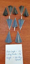 New listing 10 Vintage 2-Blade Solid Broadheads (Bear, Zwickey, ???)