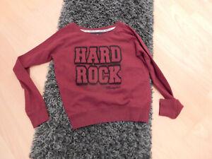 Hard Rock Cafe Mephis Sweetshirt - Weinrot - Gr M orginal
