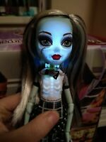 2012 Monster High GHOULS ALIVE Frankie Stein Doll LIGHT'S UP!