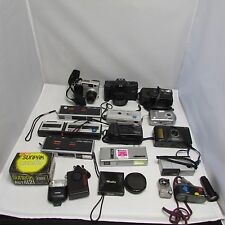 Lot of 35mm Film and Digital Camera Minolta Olympus Pentax Kodak Vivitar
