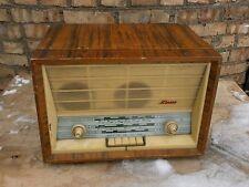 "Vintage Tube Radio  very rare ""YUGDON"" USSR radiola radiogram record player"
