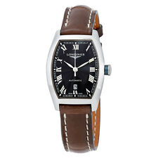 Longines Evidenza Black Dial Automatic Ladies Watch L2.142.4.51.2
