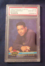 Manny Ramirez  1992 Rookie Stadium Club  #146  PSA 10 Gem Mint