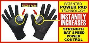 Turbo Slot Batting Gloves Grey Original Youth Medium