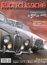 RUOTECLASSICHE 104 1997 ROVER V8 3,5 COUPE, AUTOBIANCHI A112 ABARTH, MASERATI A6