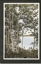 Lampson Wisconsin WI 40s RPPC Piney Point Gull Lake Shr