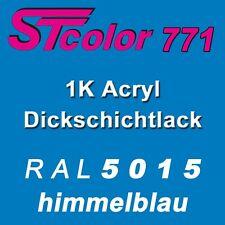 5,0 kg 1K Acryl Lack Dickschichtlack seidenmatt RAL 5015 himmelblau