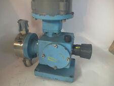 American Lewa K480S Metering Pump W/ Reliance Motor 1/2 HP 1725 RPM