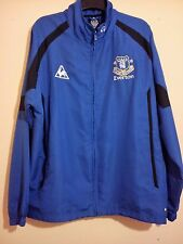 EVERTON FOOTBALL CLUB BLUE TRACK TOP JACKET XXL LE COQ SPORTIF EFC CHANG SODA VG
