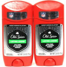 2 Old Spice 2.6oz Lasting Legend Xtra Strong Odor Block Antiperspirant Deodorant