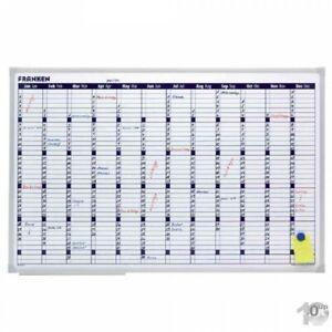 FRANKEN X-tra!Line Planungstafel Jahreskalender 900x600 mm Whiteboard
