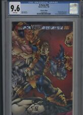 X-Force #50 CGC 9.6 - Collector's Edition prismatic double gatefold cover