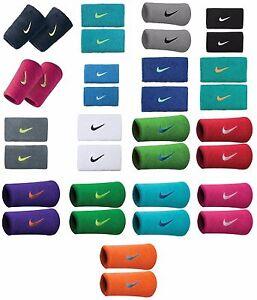 New Nike Swoosh DoubleWide Wristbands Tennis Federer Rafa Nadal Sport Wristband