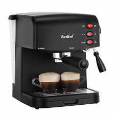 VonShef Espresso and Coffee Maker Machine