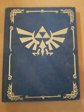 Legend of Zelda Phantom Hourglass Collector's Blue Hardcover Strategy Guide Book