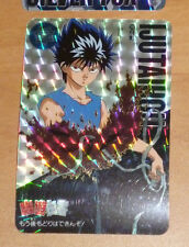YUYU HAKUSHO CARDDASS CARD PRISM CARTE 100 IJUTAIHOU MADE IN JAPAN 1995 NM