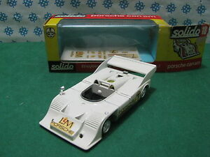 Vintage Massiv Serie 100 - Porsche Can-Am À Compresseur - 1/43 Solido 18