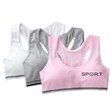 Girls Training Bra Sweat-Absorbent Young Girls Underwear Pubertas Bralette Vest