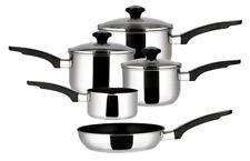 Prestige 76709 Stainless Steel 5 Piece Non-stick Cookware Set
