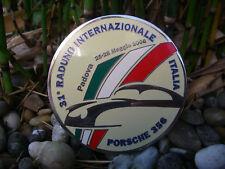 PORSCHE 356 CLUB ITALIEN - RADUNO PADOVA 2006 Plakette Emaille car grille Badge