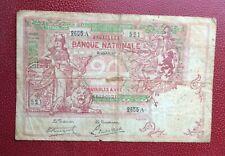Belgique -  Joli  Billet  de 20 Francs du  3-01-1919
