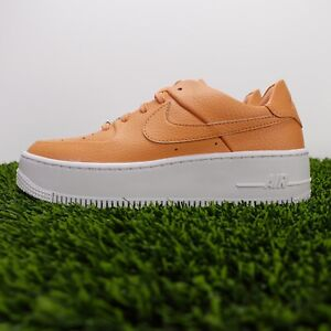Nike Air Force 1 Sage Low Womens AR5339-800 Copper Moon Starfish Shoes Size 6.5