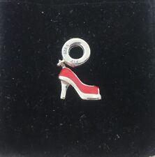 Authentic Pandora Red Stiletto High Heel Dangle 792154EN09 Charm Bead