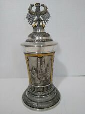 Germany 50th Anniversary Pewter Stein Eagle 1949 1999 Limited Edition WW Team