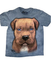 The Mountain Pitbull Puppy Face Youth T-shirt New Small 6-8