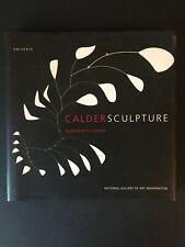 Caldersculpture, by Alexander S.C. Rower-1998-1st Ed, 1st Prtg, H/C Book w/ DJ
