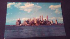 Hermosas mayores ak New York City manhattan Harbor skyline ungelaufen alrededor de 1970 ny22