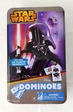 Disney Star Wars Dominoes With Tin 28 Plastic pieces Darth Vader 5+ years