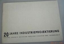 20 Jahre Industrieprojektierung VE BMK Chemie Betrieb Projektierung Technologie