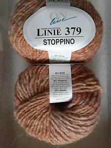 *SONDERPREIS 50g ONline Linie 379 STOPPINO Farbverlauf Wolle Alpaka Stricken 10
