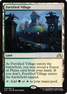 FORTIFIED VILLAGE Shadows over Innistrad MTG Land Rare