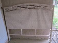 Wicker Full Size headboard cottage style