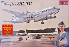 Roden 301- 1/144 - DC-7C Pan American World Airways (PAA) plastic model kit