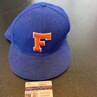 Emmitt Smith Signed Florida Gators NCAA College Hat With JSA COA